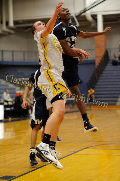 2011-12 Clarkston JV Basketball vs Southfield image 214