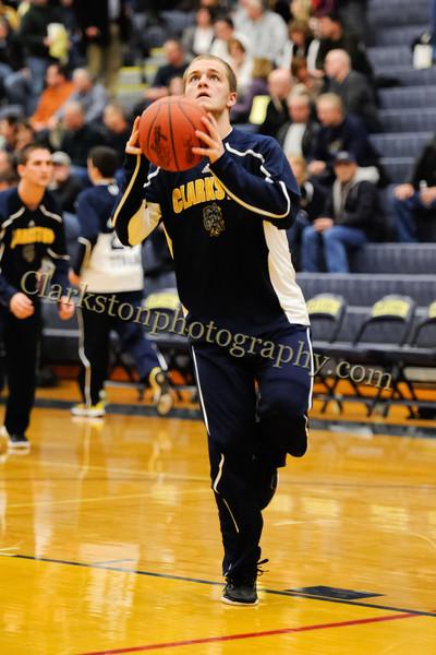 2011-12 Clarkston Varsity Basketball vs Southfield image 019