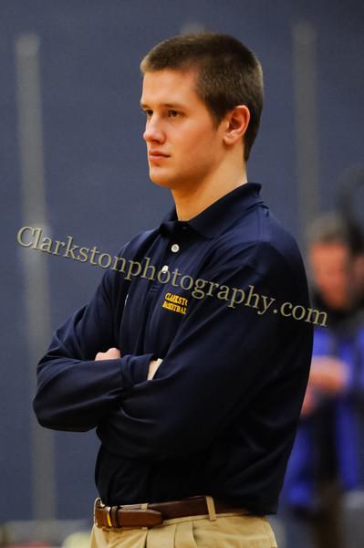 2011-12 Clarkston Varsity Basketball vs Southfield image 004