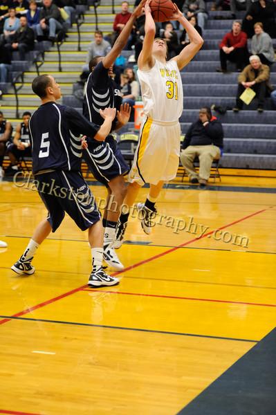 2011-12 Clarkston Varsity Basketball vs Southfield image 111