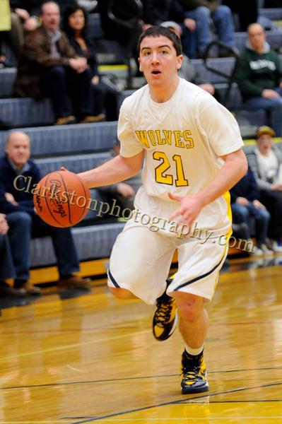 2011-12 Clarkston Varsity Basketball vs  FHH image 023
