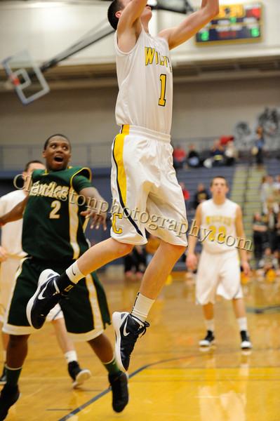 2011-12 Clarkston Varsity Basketball vs  FHH image 068