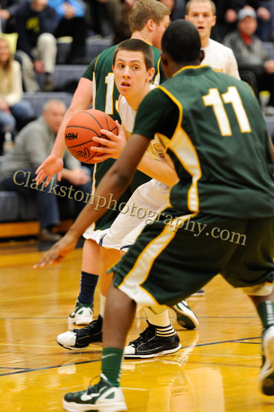 2011-12 Clarkston Varsity Basketball vs  FHH image 012