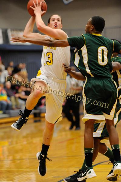 2011-12 Clarkston Varsity Basketball vs  FHH image 043