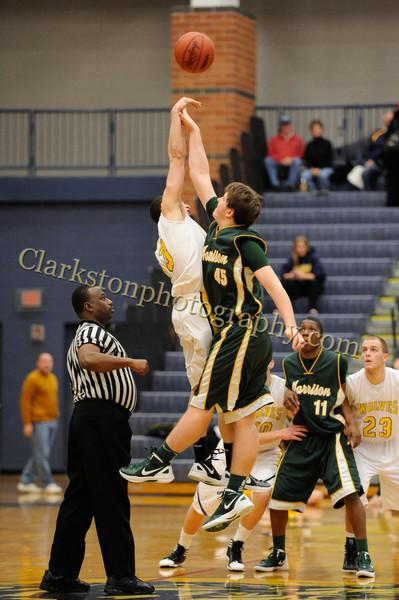 2011-12 Clarkston Varsity Basketball vs  FHH image 003