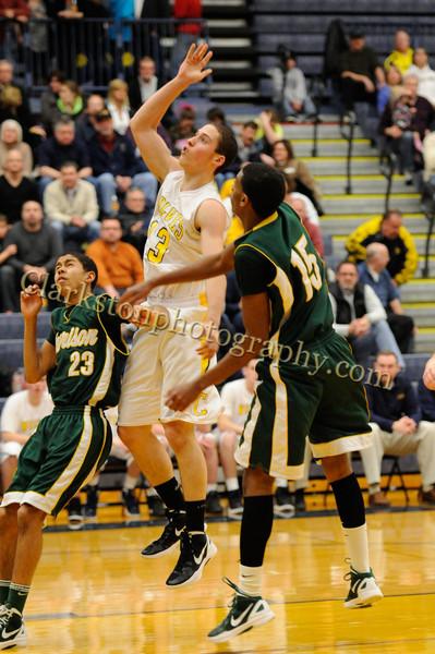 2011-12 Clarkston Varsity Basketball vs  FHH image 123