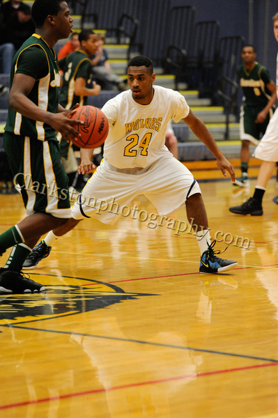 2011-12 Clarkston Varsity Basketball vs  FHH image 154
