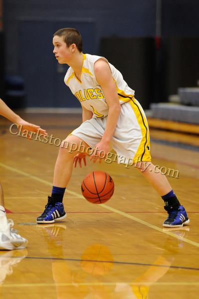 2011-12 Clarkston JV Basketball vs  FHH image 100