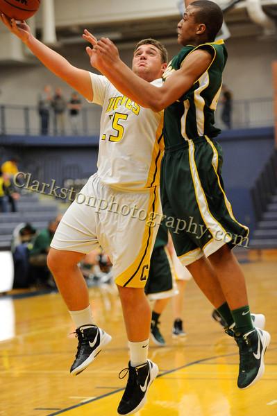 2011-12 Clarkston JV Basketball vs  FHH image 078