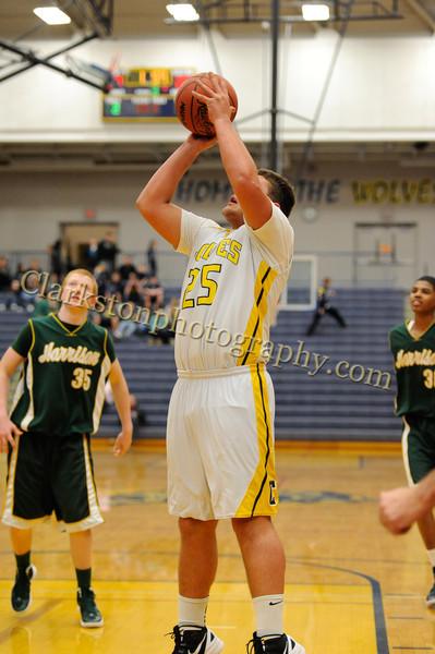 2011-12 Clarkston JV Basketball vs  FHH image 051