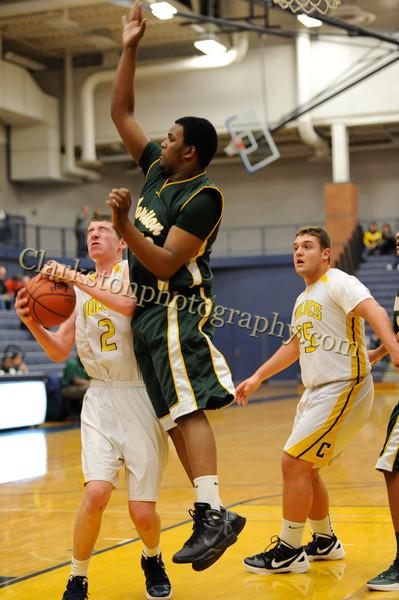 2011-12 Clarkston JV Basketball vs  FHH image 064