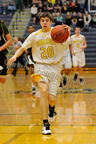2011-12 Clarkston JV Basketball vs  FHH image 090