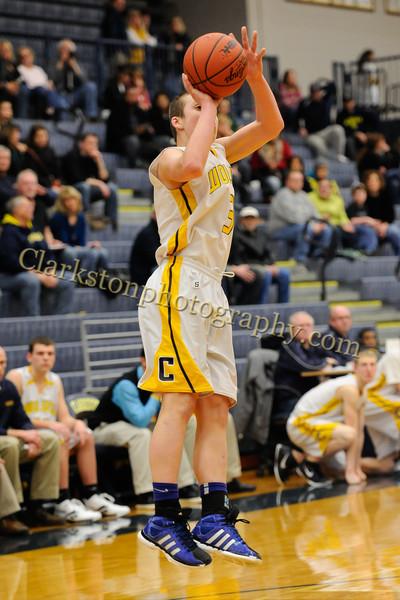 2011-12 Clarkston JV Basketball vs  FHH image 038
