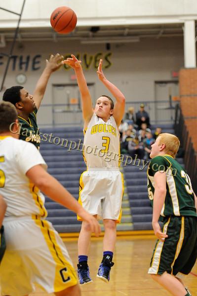 2011-12 Clarkston JV Basketball vs  FHH image 069