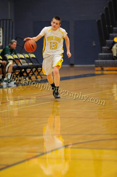 2011-12 Clarkston JV Basketball vs  FHH image 019