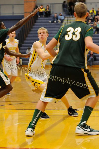 2011-12 Clarkston JV Basketball vs  FHH image 092