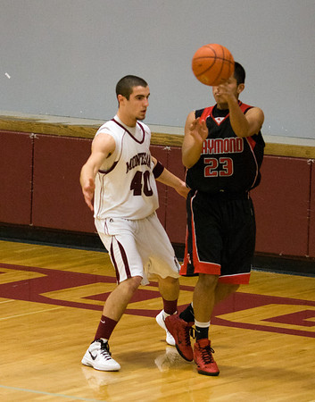 Montesano HS vs. Raymond HS, mens varsity, December 6, 2011