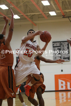 La Porte Boys Varsity Basketball vs. Dobie 1/10/2012