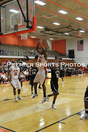 La Porte Boys Varsity Basketball vs North Forest 12/12/2011