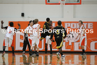 La Porte Boys Soph Basketball vs Hastings 11/15/2011