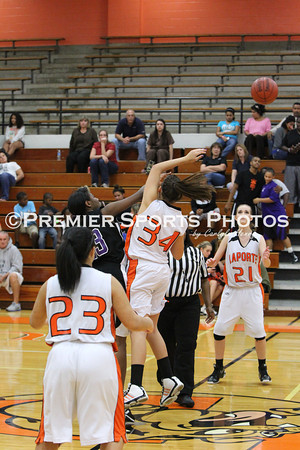 La Porte Girls JV Basketball vs Humble 11/21/2011