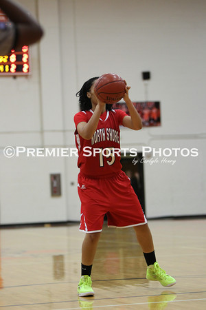 La Porte Girls Varsity Basketball vs North Shore 1/20/2012