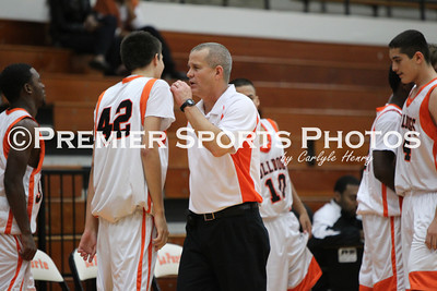La Porte JV Boys Basketball vs Dickinson 12/5/2011
