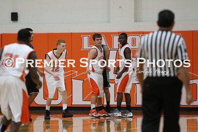 La Porte JV Basketball vs. Pasadena Memorial 1/2/2012
