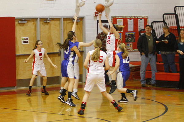 Lady Generals vs Philo 7th Grade