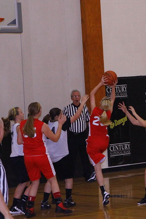 Lady Generals vs Tri Valley 7th Grade