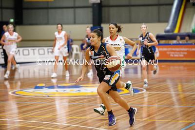 RND 7 Lady Braves v Brisbane 6 May 2012