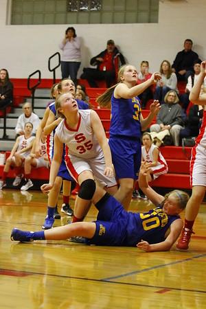 Sheridan vs Philo 7th Grade Girls
