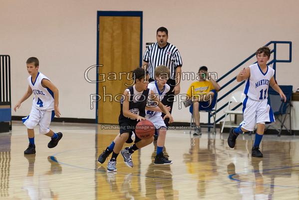 10-28-13 Mooreville@Mantachie 7th Grade Boys
