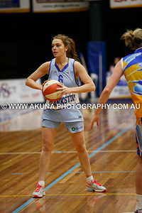 2014 SEABL 2nd Semi-Final Lady Braves 83 V Frankston 49