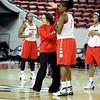Georgia Women's Basketball Practice