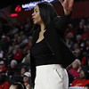 Georgia head coach Joni Taylor during the Lady Bulldogs' game against Arkansas at Stegeman Coliseum in Athens, Ga., on Thursday, Jan. 11, 2018. (Photo by Steffenie Burns)