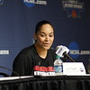 Georgia head coach Joni Taylor during the NCAA press conference at Stegeman Coliseum in Athens, Ga. on Friday, March 16, 2018. (Photo by Steffenie Burns)