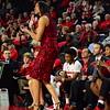 Georgia head coach Joni Taylor during the Lady Bulldogs' game against Furman at Stegeman Coliseum in Athens, Ga. on Thursday, Nov. 30, 2017. (Photo by Caitlyn Tam)