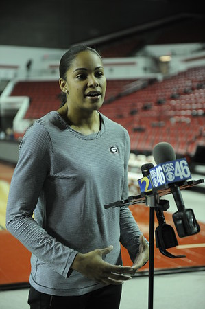 Georgia Basketball Press Conference