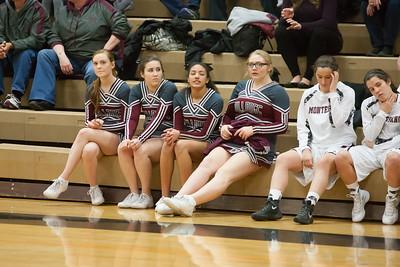 LaCenter HS vs. Montesano HS, ladies varsity, February 13, 2016