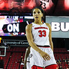 Georgia's Mackenzie Engram (33) during the Bulldogs' game against Alabama at Stegeman Coliseum in Athens, Ga., on Thursday, February 23, 2017. (Photo by Cory A. Cole)