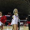 Cheerleaders during the Bulldogs' game against Alabama at Stegeman Coliseum in Athens, Ga., on Thursday, February 23, 2017. (Photo by Cory A. Cole)