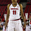 Georgia's Pachis Roberts (11) during the Bulldogs' game against Alabama at Stegeman Coliseum in Athens, Ga., on Thursday, February 23, 2017. (Photo by Cory A. Cole)