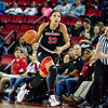 Georgia forward Mackenzie Engram (33) during the Lady Bulldogs' game with Florida at Stegeman Coliseum in Athens, Ga., on Sunday, Jan. 22, 2017. (Photo by John Paul Van Wert)