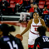 Georgia guard Haley Clark (12) during the Lady Bulldogs' game with Furman at Stegeman Coliseum in Athens, Ga., on Monday, Dec. 5, 2016. (Photo by John Paul Van Wert)