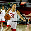 Georgia guard Simone Costa (24) during the Lady Bulldogs' game with Furman at Stegeman Coliseum in Athens, Ga., on Monday, Dec. 5, 2016. (Photo by John Paul Van Wert)
