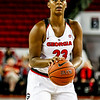 Georgia forward Halle Washington (23) during the Lady Bulldogs' game with Furman at Stegeman Coliseum in Athens, Ga., on Monday, Dec. 5, 2016. (Photo by John Paul Van Wert)