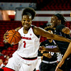 Georgia guard Shanea Armbrister (1) during the Lady Bulldogs' game with Furman at Stegeman Coliseum in Athens, Ga., on Monday, Dec. 5, 2016. (Photo by John Paul Van Wert)
