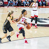 Georgia guard Haley Clark (12) during the Lady Bulldogs' game with Kennesaw State at Stegeman Coliseum in Athens, Ga., on Tuesday, Nov. 29, 2016. (Photo by John Paul Van Wert)