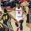 Georgia guard/forward Pachis Roberts (11) during the Lady Bulldogs' game with Kennesaw State at Stegeman Coliseum in Athens, Ga., on Tuesday, Nov. 29, 2016. (Photo by John Paul Van Wert)